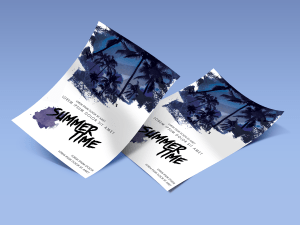 Summer Time – Poster Template